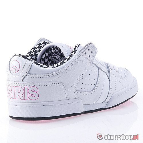 Buty OSIRIS NYC 83 Low WMN (white/black/hounds) białe smpl