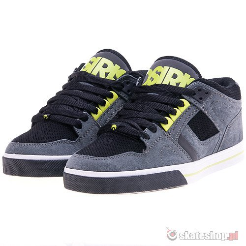 Buty OSIRIS NYC 83 MID VLC (charcoal/black/lime) szare