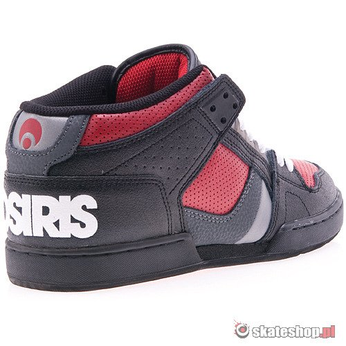 Buty OSIRIS NYC 83 MID (black/red/white) czarne
