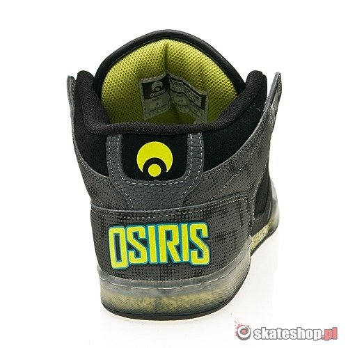 Buty OSIRIS NYC 83 MID (grey/lime/rr nyquist) szare
