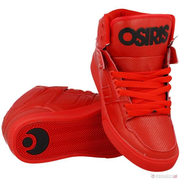 Buty OSIRIS NYC 83 VLC '14 (red/red/red)
