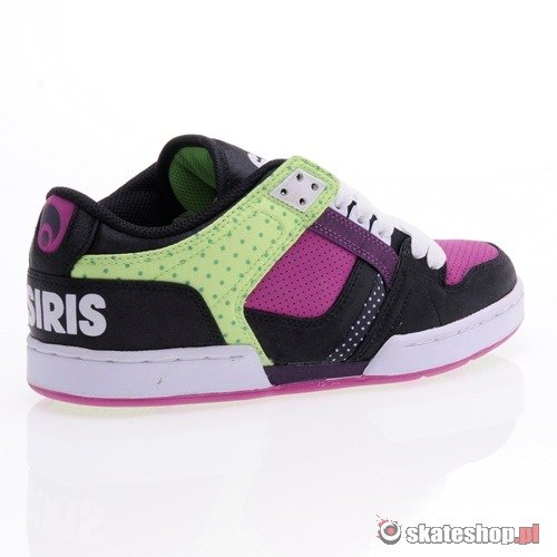 Buty OSIRIS NYC 83 WMN (black/green/dots) K13G113