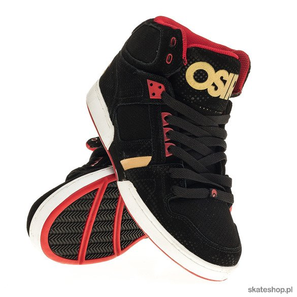 Buty OSIRIS NYC 83 (black/red/dpi)