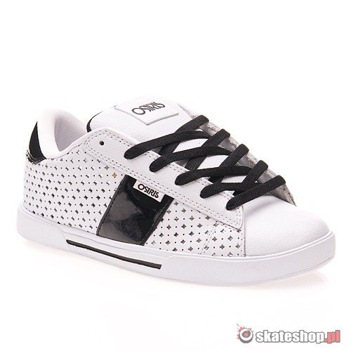Buty OSIRIS Serve Girls (white/black) białe 535