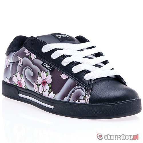 Buty OSIRIS Serve WMN (black/blossom/damien) czarne