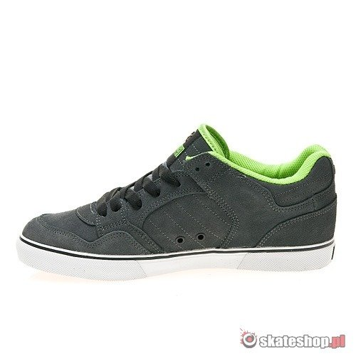 Buty OSIRIS Shuriken Low (charcoal/white/lime) szare