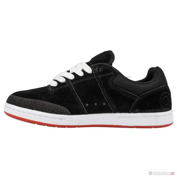 Buty OSIRIS Sleak (blk/red/wht) czarne