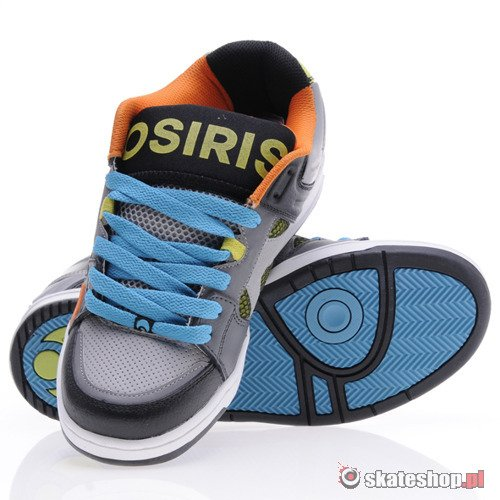 Buty OSIRIS The Jos1 (grey/lime/teal) K67A22