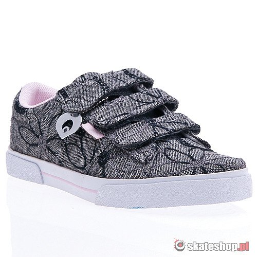 Buty OSIRIS Tre WMN (charcoal/emroidered) szare