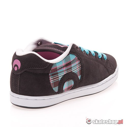 Buty OSIRIS Troma Icon WMN (brown/opal/plaid) brązowe 725