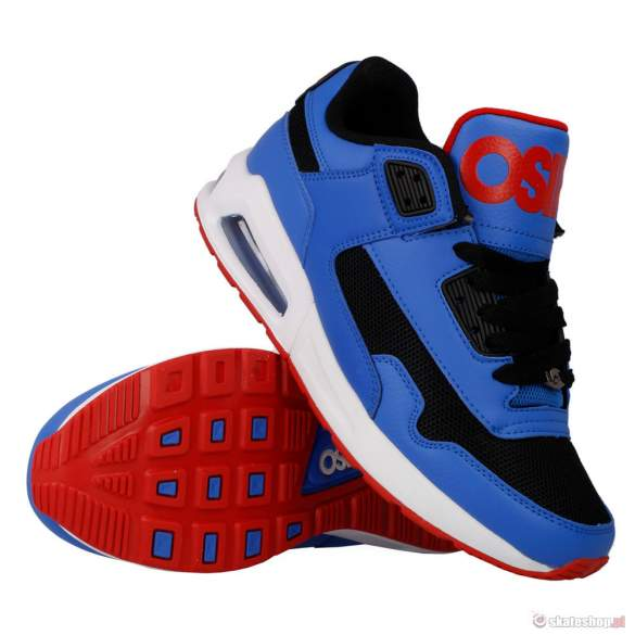 Buty OSIRIS Uprise (blu/red/wht)