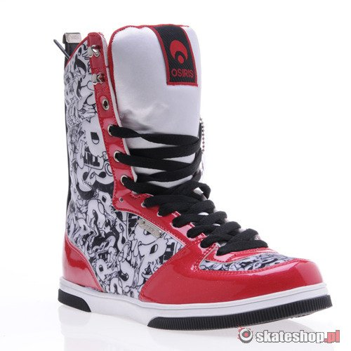 Buty OSIRIS Uptown Ltd (red/wht/blk) K38A20