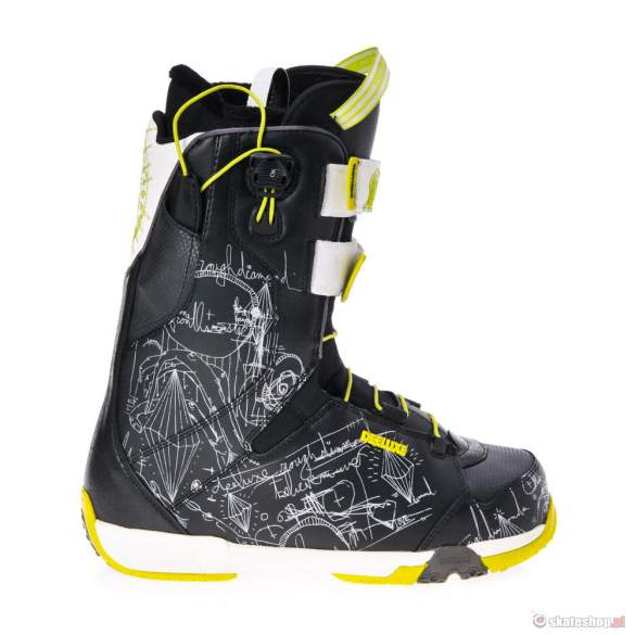 Buty Snowboardowe DEELUXE Rough Diamond TF (black/lime)