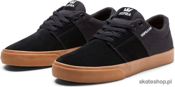 Buty Supra Stacks Vulc II (black/gum)