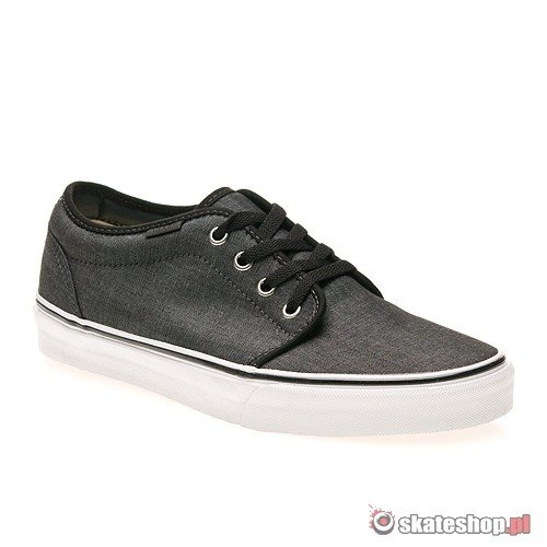 Buty VANS 106 Vulcanized Chambray (black/dark shadow) czarny jeans