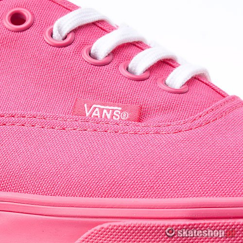 Buty VANS Authentic Lo Pro WMN (rouge red/true white) różowe