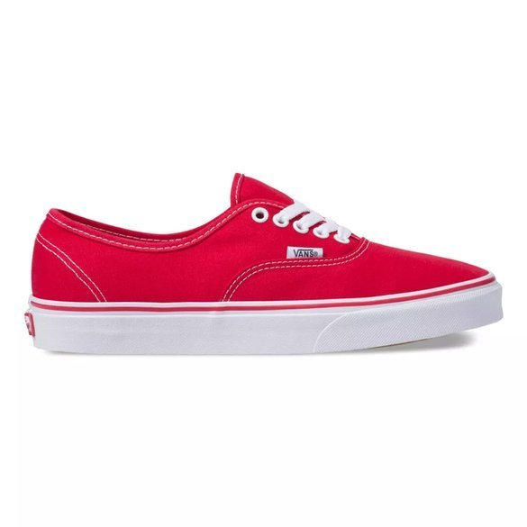 Buty VANS Authentic (red) czerwone