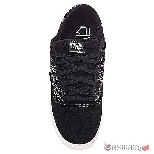 Buty VANS Av Era (black/white/off the wall) czarno-białe