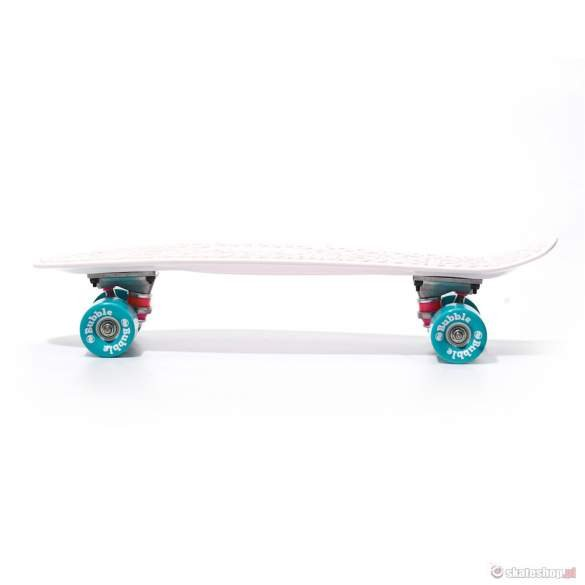 Cruiser BUBBLE SKATEBOARDS (wht) biała