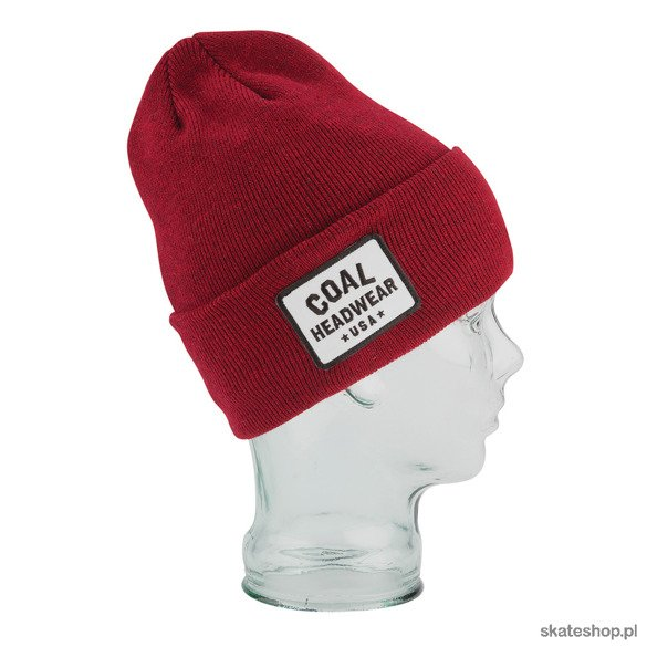 Czapka COAL The Uniform+ (Dark Heather Red)