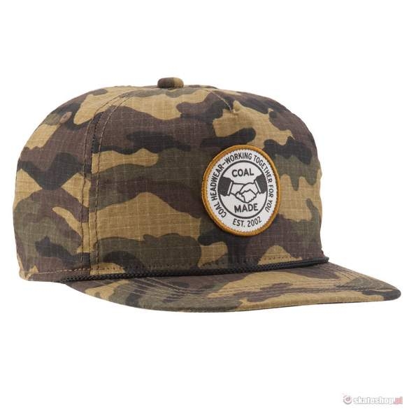 Czapka COAL The Union (ripstop camo)