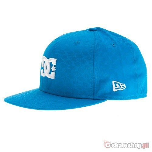 Czapka DC by New Era Unravel (electric blue) turkusowa