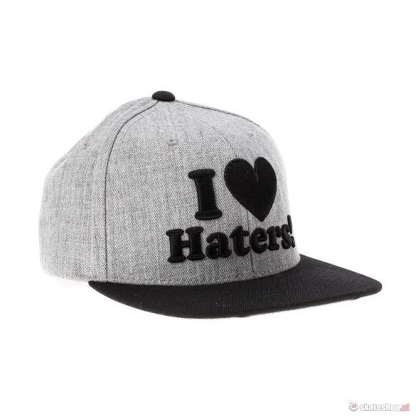 Czapka DGK I Love Haters (grey/black)