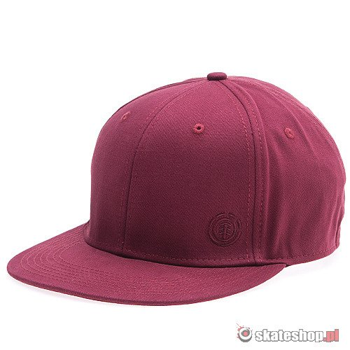 Czapka ELEMENT Radical Cap (vintage red) czerwona