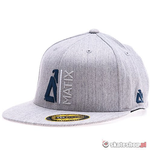 Czapka MATIX Monocut 210 (heather grey) szara
