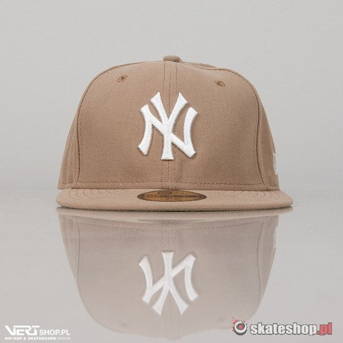 Czapka NEW ERA NY Basic (beige)