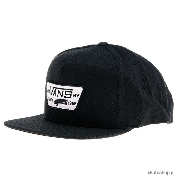 Czapka VANS Full Patch Snapback (black)