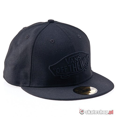 Czapka VANS Home Team New Era '12 (black/charcoal) czarna
