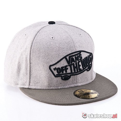 Czapka VANS Home Team New Era '12 (heather grey) szara