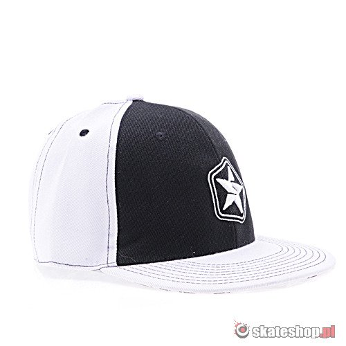 Czapka z daszkiem SESSION (white/black) r. L/XL