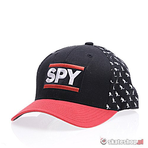 Czapka z daszkiem SPY Denver (black/red) r.L/XL