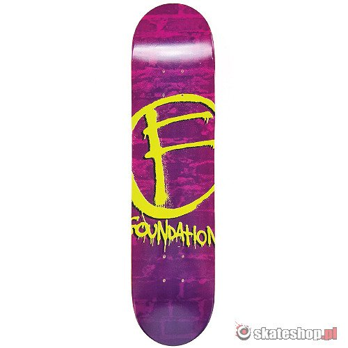 Deck FOUNDATION Mark Fade (purple) 7.5