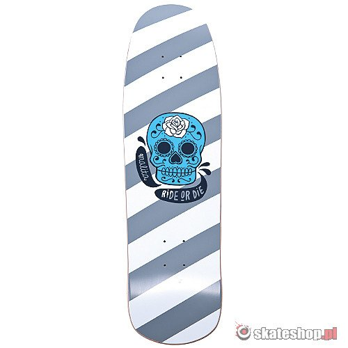 Deck MALITA Cruiser Skull Stripes '12 7.5
