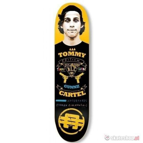 Deck TOMMY GUNZ 8.0 pro model