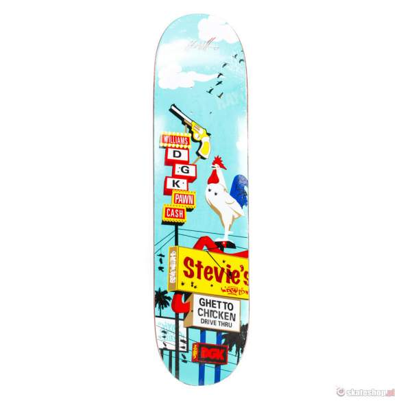 Deska DGK Drive By Stevie Williams 8,06""