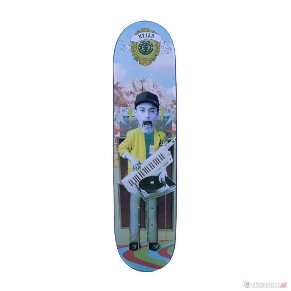Deska ELEMENT Nyjah Huston One Man Band  7,875""
