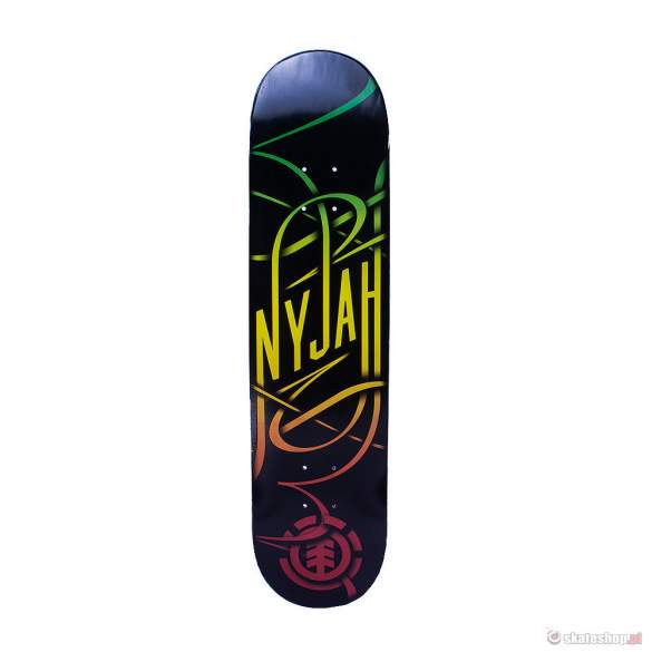 Deska ELEMENT Nyjah Huston Rasta Swash 7,7""