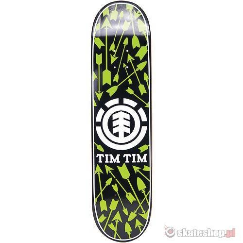 Deska ELEMENT Tim Tim Icons (black/green) 8