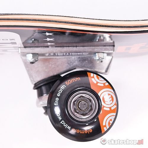 Deska ELEMENT Varsity Snake (black/orange) 7.375