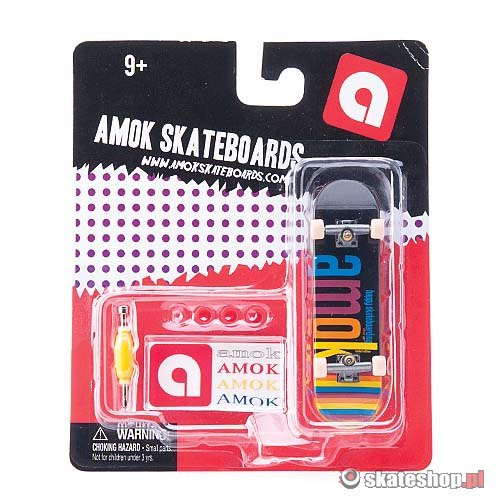 Fingerboard AMOK Color (black/multicolor) multikolor