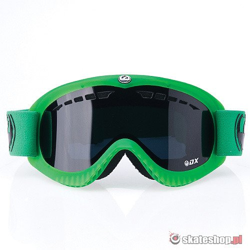 Gogle DRAGON DX (matte emerald green/eclipse) zielone