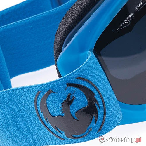Gogle DRAGON DX (matte saphire blue/eclipse) niebieskie