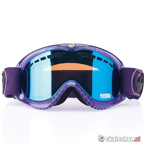Gogle DRAGON DXS (skullcandy purple/blue steel) fioletowe