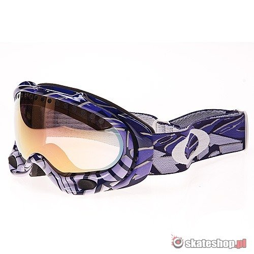 Gogle OAKLEY A-Frame (color block purple/vr50 pink iridium) fioletowe