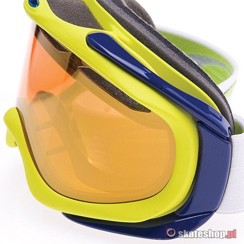 Gogle OAKLEY Ambush (lightning green/fire iridium) żółte