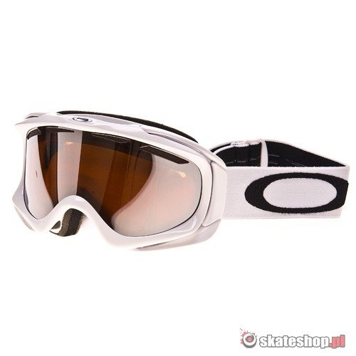 Gogle OAKLEY Ambush (polished white/black iridium) białe